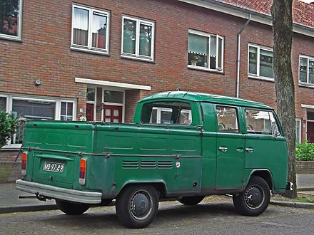 eb8c8530e0 Volkswagen Transporter Pickup (The Netherlands)