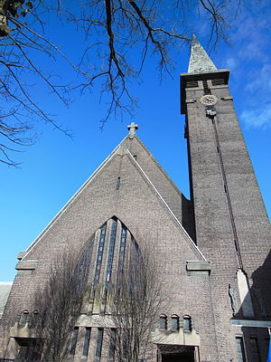 St. Joseph, Leiden - Main facade of St. Joseph Church