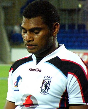 Kaliova Nauqe Tani - Nauqe playing for Fiji in 2008