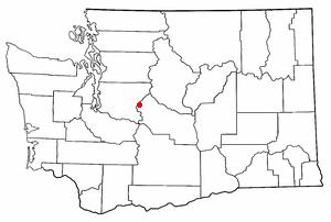 Snoqualmie Pass, Washington - Location of Snoqualmie Pass, Washington