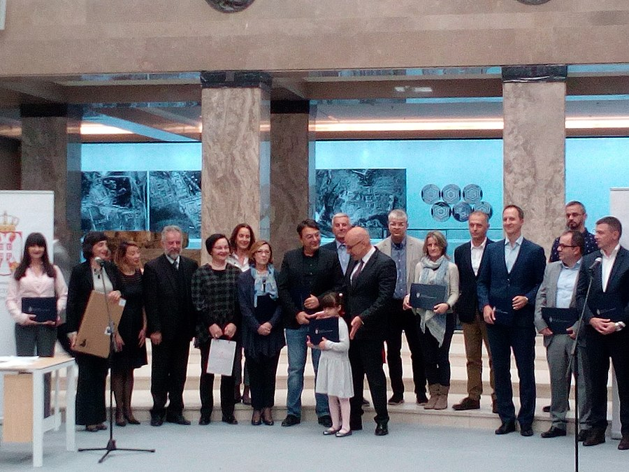 WMRS Receives The Certificate of Appreciation from the Ministry of Culture and Information of Republic of Serbia 05.jpg