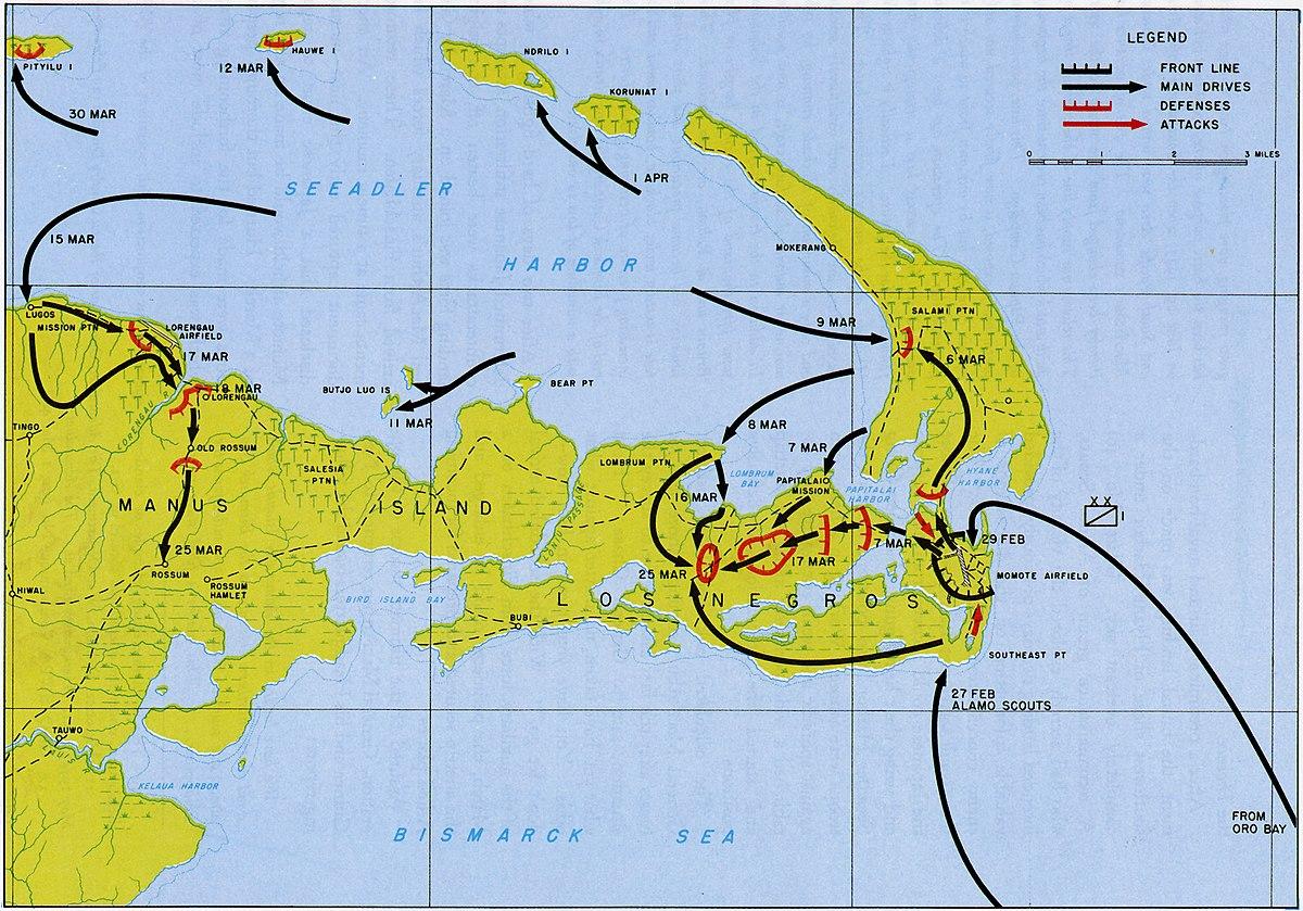 File Ww2 Admiralty Islands Ops Jpg Wikimedia Commons