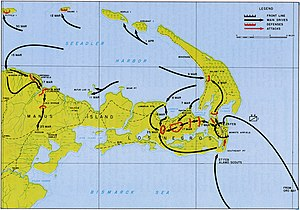 Admiralty Islands campaign - Image: WW2 Admiralty Islands ops