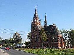 Wadowice Gorne - church 001.JPG