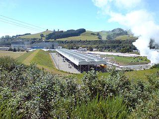 Wairakei Power Station Geothermal power station in Waikato, New Zealand