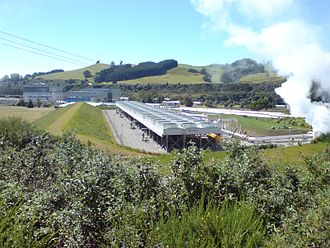 Ormat Technologies - Wairakei Power Station in New Zealand, powered by Ormat equipment