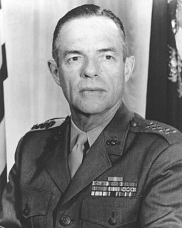 Wallace M. Greene 23rd Commandant of the Marine Corps