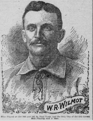 Walt Wilmot - Wilmot from 1901 newspaper story