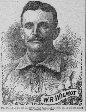 Walt Wilmot - Wilmot from 1901 newspaper story