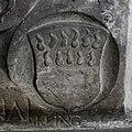Wangen Martinskirche Epitaph Johann Jacob dÄ Altsummerau Praßberg 1585 Ahnenprobe 4.jpg