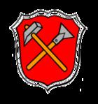 Das Wappen von Schwarzenbach a.Wald