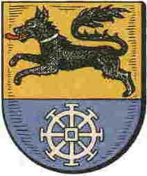 Wulfsen - Image: Wappen der Gemeinde Wulfsen