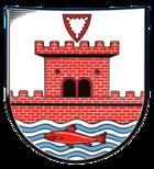 Das Wappen von Plön