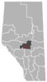 Warburg, Alberta Location.png