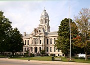 Old county courthouse building.