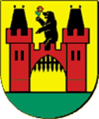 Ursynów - Image: Warsaw district Ursynow coa