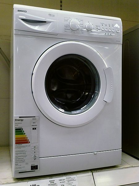 File:Washing Machine Beko.jpg