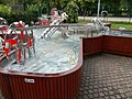 Water playground in Keszthely, 2016 Hungary.jpg