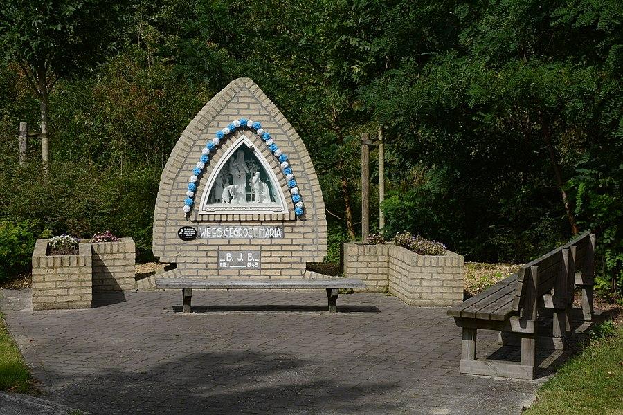 Wayside shrine, Rustoordlaan, Peer, Belgium
