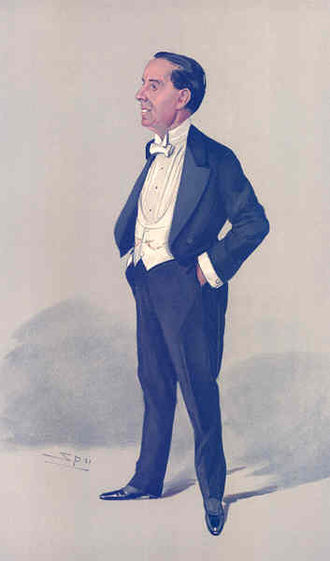 Weedon Grossmith - Grossmith in Vanity Fair: The Duffer, by Spy (1905)