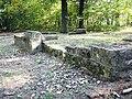 Weesenstein, Belvedere-Schlegelösen im Sockelmauerwerk.JPG
