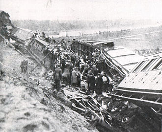 Weesp train disaster - Damage after the Weesp train disaster