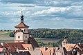Weißer Turm und Klingentorturm, vom Röderturm Rothenburg ob der Tauber 20180922 001.jpg