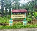 Welcome gate to Sendang Sari, Kisaran Barat, Asahan.jpg