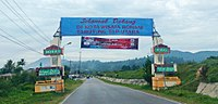 Welcome gate to Tarutung, Tapanuli Utara.jpg