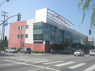 Santa Monica Boulevard - The West Hollywood City Hall, on Santa Monica Boulevard