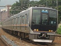 321系電車(島本駅 - 山崎駅間)