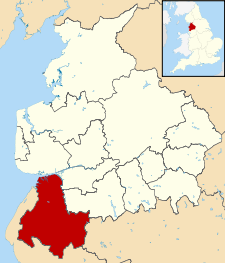 West Lancashire UK locator map.svg