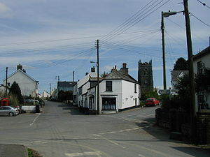 West Down - The centre of the village