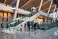 West entrance lobby of Qinghe Railway Station (20191230164131).jpg
