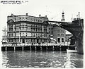 West side of Circular Quay showing the bow of the Empire, Sydney (NSW) (8344226646).jpg