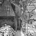 Westgevel zuiderdwarsarm na sloop van het stovenhok - Utrecht - 20232969 - RCE.jpg