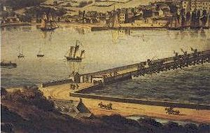County Wexford - Wexford town c. 1800.
