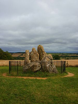 Rollright Stones - The Whispering Knights, 2011.