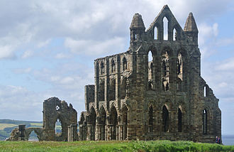 Ruins - Ruins of Whitby Abbey, England