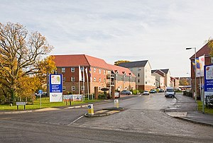 Bovis Homes Group - A Bovis Homes development near Southampton