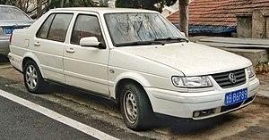Volkswagen Jetta King - Image: White Volkswagen Jetta, Qingdao