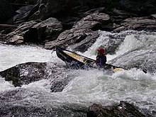 Whitewater Canoeing on the Chattooga River
