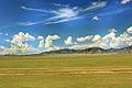 Widoki mongolskiego krajobrazu widziane z minibusa Karakorum - Ułan Bator (12).jpg