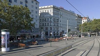 So kommt man zu dem Schwedenplatz mit den Öffentlichen - Mehr zum Ort Hier