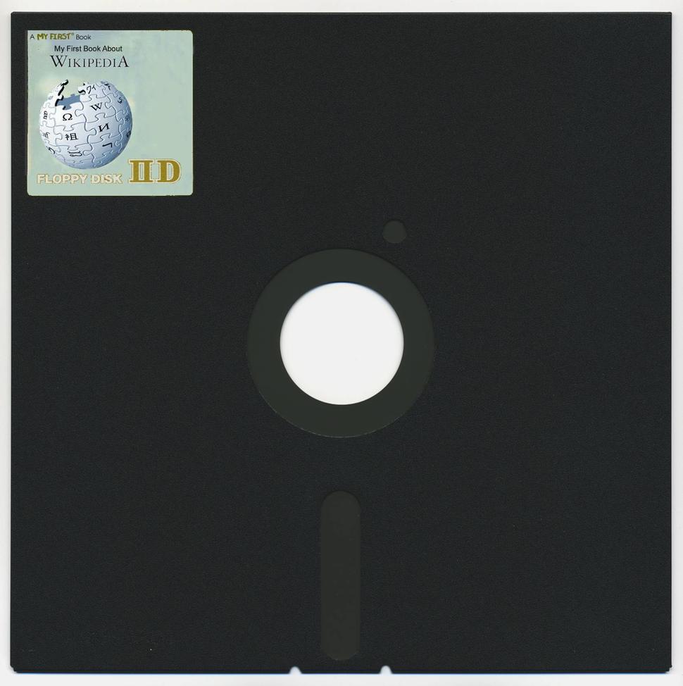 Wiki 8-inch floppy disk