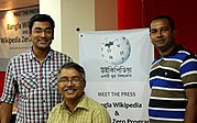 Wiki meetup and press conference on Wikipedia Zero in Bangladesh (31).jpg