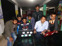 Wikipedia15 good article edit-a-thon and adda, Rajshahi 2.jpg