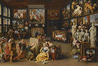 Cornelis van der Geest - Image: Willem van Haecht Alexander the Great visits the studio of Apelles N08610 169 lr 1
