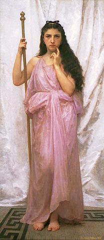 Молодая жрица 1902, художественная галерея университета Рочестера