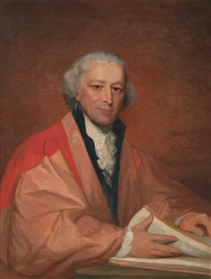 Johnson State College - William Samuel Johnson (1727-1819), American jurist, statesman and educator. Both the college and the town are named for him. Painted by Gilbert Stuart.